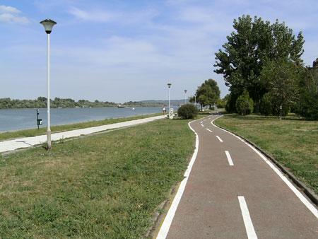 велоалея в Белград
