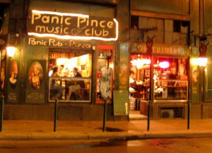 Panic Pince music club